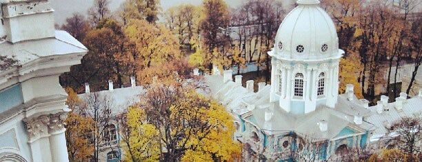 Smolny Cathedral is one of СПб Art.