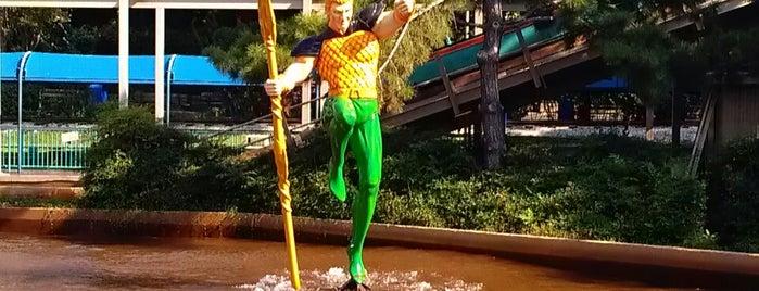 Aquaman Splashdown is one of Must-visit Theme Parks in Arlington.