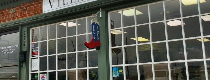 Village Shoe Service is one of Favorite Spots.