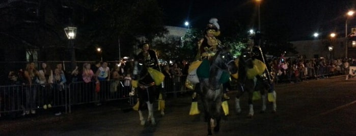 Corner of Government and Claiborne is one of Mobile Mardi Gras: The best parade spots.