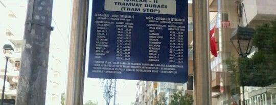 Işıklar 2 Tramvay Durağı is one of Antalya Nostaljik Tramvay Durakları.