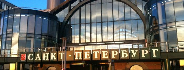 Ладожский вокзал is one of Санкт-Петербург.