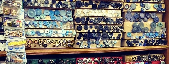 Duttons for Buttons is one of Best unusual UK shops - reader tips.