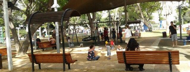 Dubnov Park is one of We Love Tel Aviv!  #4sqCities.