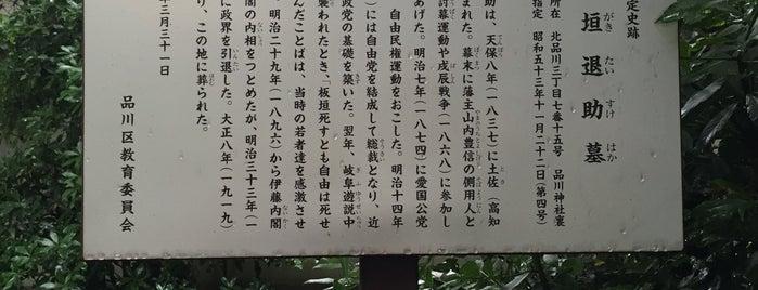 板垣退助墓 is one of Amazing place.