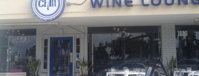 Chill Wine Lounge  **CLOSED** is one of Places to try.