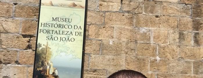Associação Cultural do Sitio Histórico da Fortaleza de São João is one of Sempre.