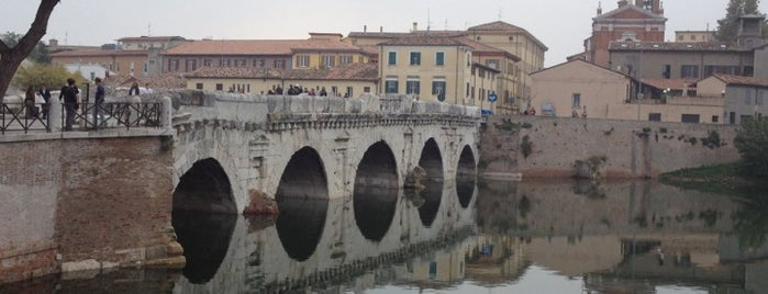 Ponte di Tiberio is one of Bologna Rimini To-Do.