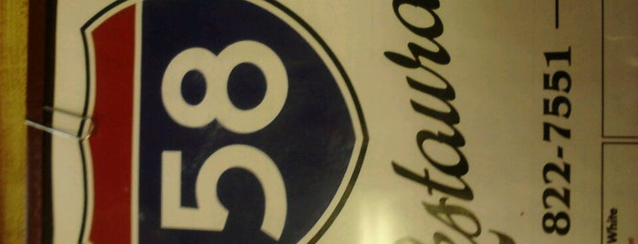 58 Resturant is one of Eateries.