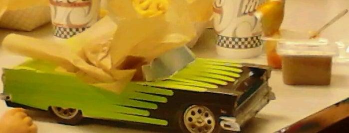Hwy 55 Burgers & Fries is one of Eateries.