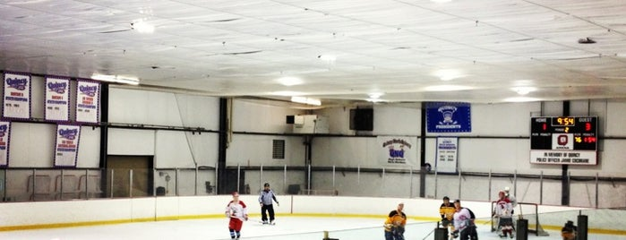 Quincy Youth Arena is one of Quincy- City of Presidents.