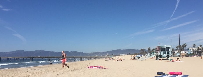 Marina del Rey Beach is one of The 50 Most Popular Beaches in the U.S..