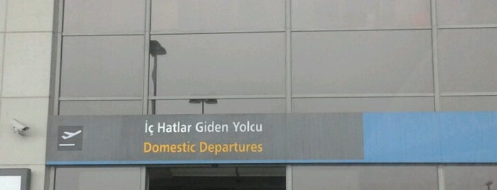 Domestic Departures is one of Airports in Turkey.