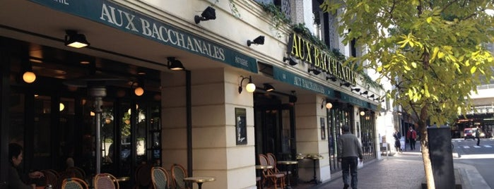 AUX BACCHANALES is one of lieu a Tokyo 2.