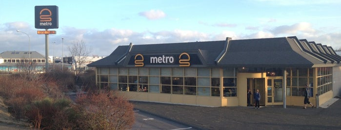 Metro is one of Reykjavik.