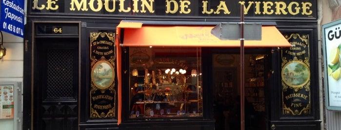 Le Moulin de La Vierge is one of Three Jane's Guide to Paris.