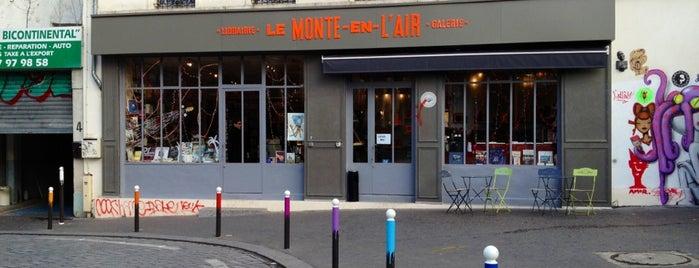 Le Monte en l'Air is one of hey paris.