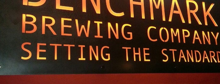 Benchmark Brewing Company is one of LAS/LAX/SAN.