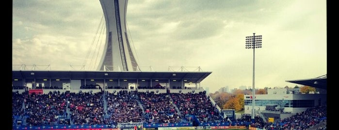 Stade Saputo is one of My favorites.