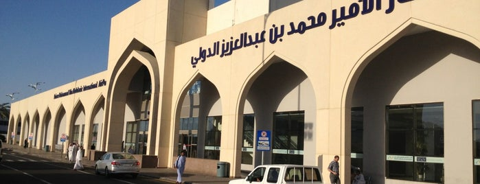 Prince Mohammad Bin Abdulaziz International Airport (MED) is one of Recommendations from you to me 4square and 4cast.