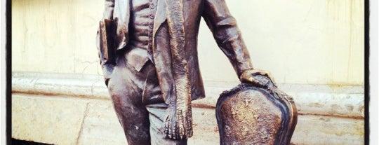 Памятник Остапу Бендеру is one of SPB.