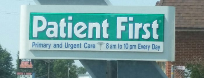 Patient First is one of Mine.