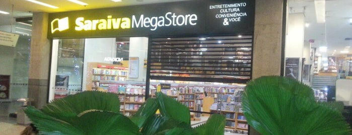 Saraiva MegaStore is one of Comida & Diversão RJ.