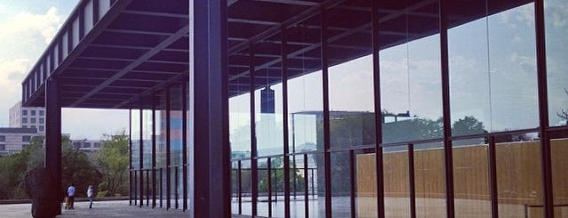 Neue Nationalgalerie is one of #MuseumMarathon Berlin 2014.