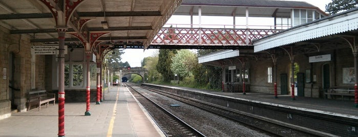 Kemble Railway Station (KEM) is one of Railway stations I've been to.