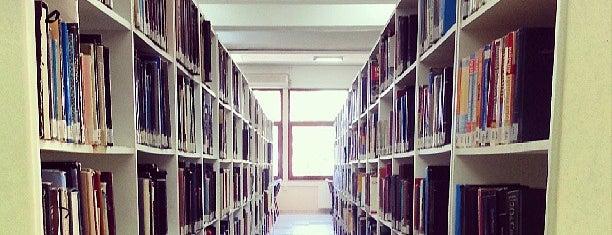 Faik Ahmet Barutçu Kütüphanesi is one of n..