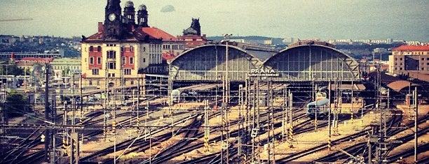 Praha hlavní nádraží | Prague Main Railway Station is one of Prague.