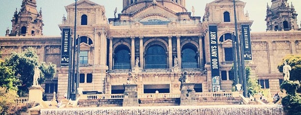 Museo Nacional de Arte de Cataluña is one of Around Paral·lel.
