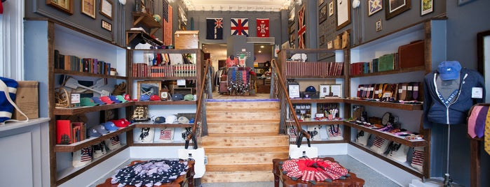 Duke & Winston Flagship Store is one of The Foursquare Insider's Perfect Day in Philly.