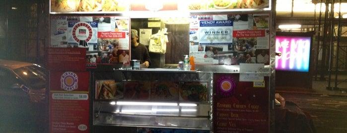 Biryani Cart is one of NYC Food on Wheels.