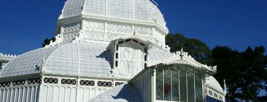 Conservatory of Flowers is one of Great City By The Bay - San Francisco, CA #visitUS.