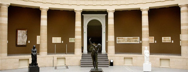 Museum of Fine Arts (MSK) is one of Gent.