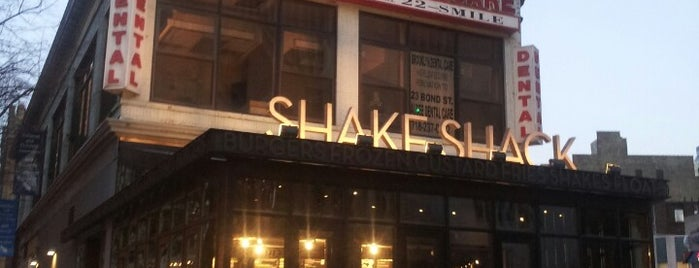 Shake Shack is one of NYC Brooklyn.