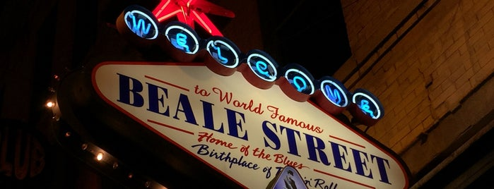 World Famous Beale Street is one of Bucket List Places.