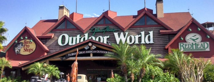 Bass Pro Shops is one of Orland.