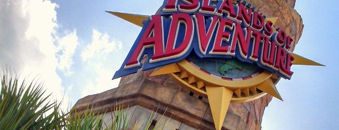Universal's Islands of Adventure is one of Florida.