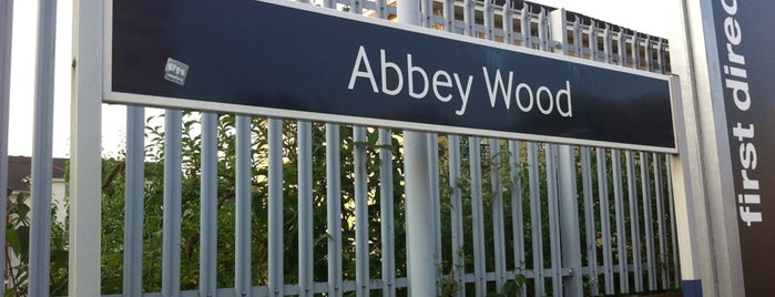 Abbey Wood Railway Station (ABW) is one of Train stations.