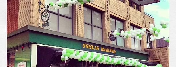 O'Sheas Irish Pub is one of Places.