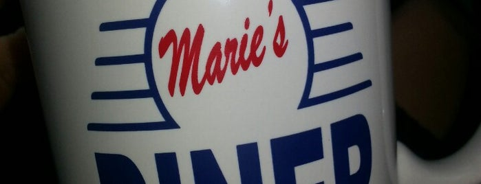 Marie's Diner is one of place I go.