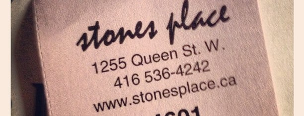 Stones Place is one of Toronto.