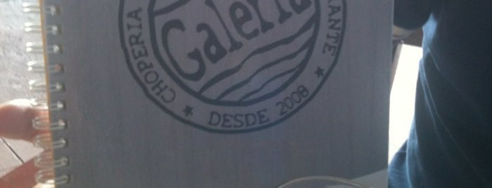 Galeria do Chopp is one of Places I use to go.