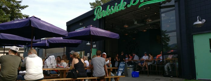 The Parkside Brewery is one of Beer Tout la monde.