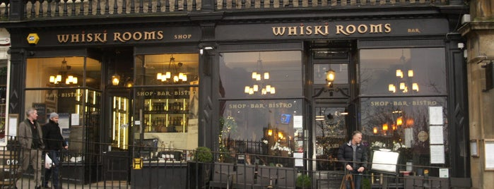 Whiski Rooms is one of The 15 Best Places for a Whiskey in Edinburgh.