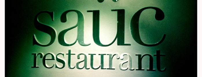 Saüc is one of Restaurantes de nivel en Barcelona.