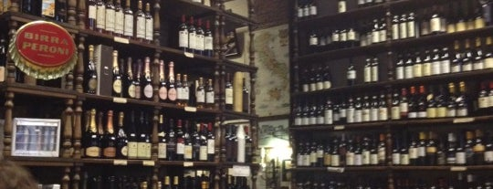 Enoteca Buccone is one of Roma - a must! = Peter's Fav's.
