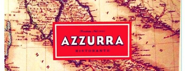Azzurra Ristorante is one of Restaurantes.